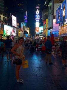 Times Square ... Pq a gente não cansa de ir lá, rs