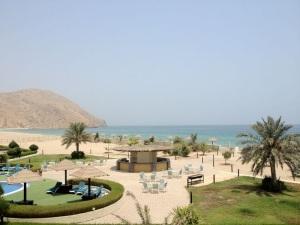 Vista do nosso quarto - Hotel em Dibba, Oman