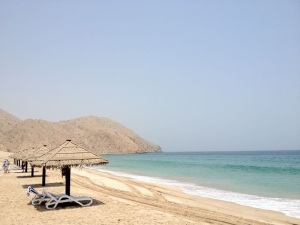 Praia Privada do Hotel - Oman