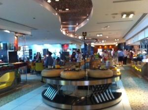 Buffet de queijos e vinhos (Westin Dubai)