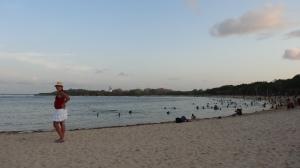 Barrigão em Nusa Dua Beach