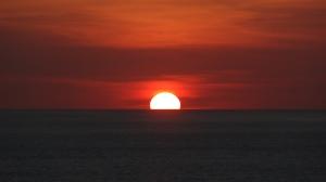 Por do sol incrível em Uluwatu (Sul de Bali)