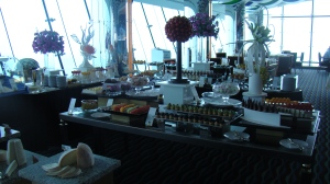 Buffet no Burj al Arab