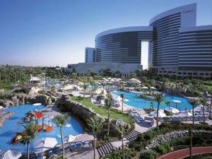 Hotel Hyatt - onde o time do Corinthians ficou em Dubai
