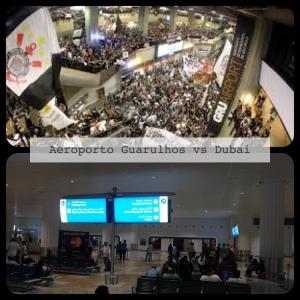 Tumulto no aeroporto de Dubai, kkkk