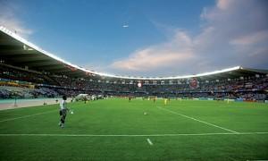 Estadio do treino do Corinthians em Dubai - Al Nasr