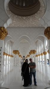 Corredores principais da Mesquita
