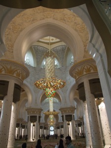 Dentro da Mesquita