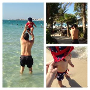 re e daniel na praia